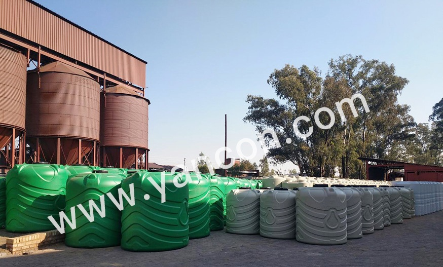 5000L water tank blow molding machine productions